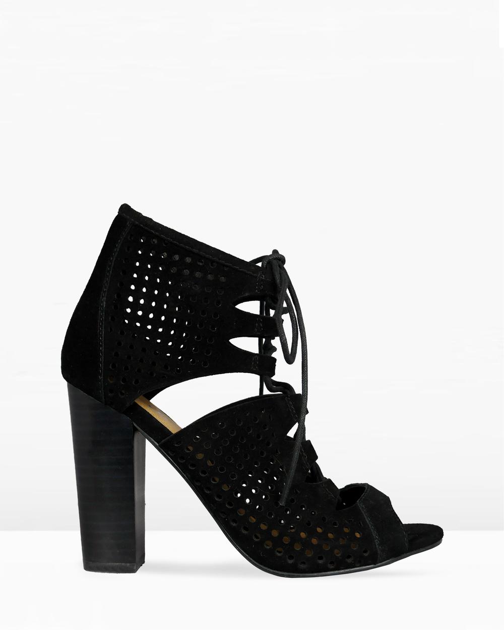 IRIS Footwear Kiara Heels Black Kiara