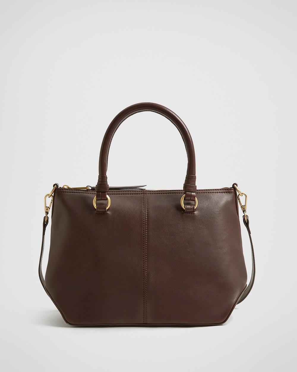 Witchery Marcella Soft Barrel Bag Bags brown Australia