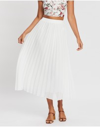Atmos&Here - Carlton Pleat Skirt