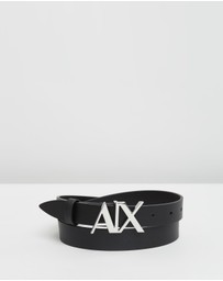 Armani Exchange - Leather Belt - Women's