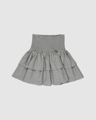 Decjuba Kids Skylar Ruffle Skirt   Teens - Skirts (Dark Sage)