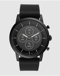 Fossil - Collider Hybrid HR Black Smartwatch