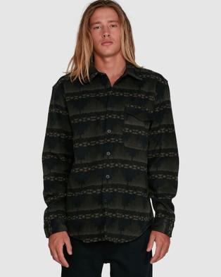 Billabong Furnace Flannel - Shirts & Polos (DARK MILITAR)