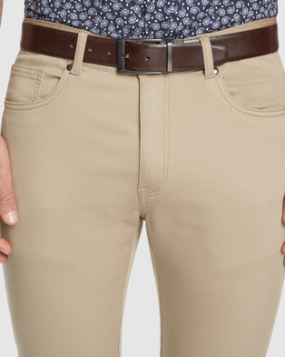Tarocash Ultimate Slim Chino - Pants (SAND)