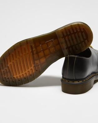 Dr Martens 1461 Atlas Leather Oxford Shoes   Men's - Dress Shoes (Dark Grey)