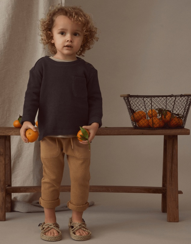 Lil' Atelier - Golf Long Sleeve Loose Top - Kids