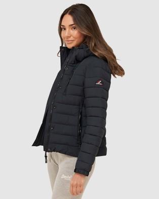 Superdry Classic Fuji Padded Jacket - Coats & Jackets (Eclipse Navy)