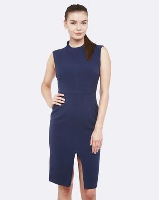 Oxford – Ava Stretch Dress – Dresses (Petrol Blue)