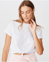 Cotton On Body Active - Tie-Up Rib T-Shirt