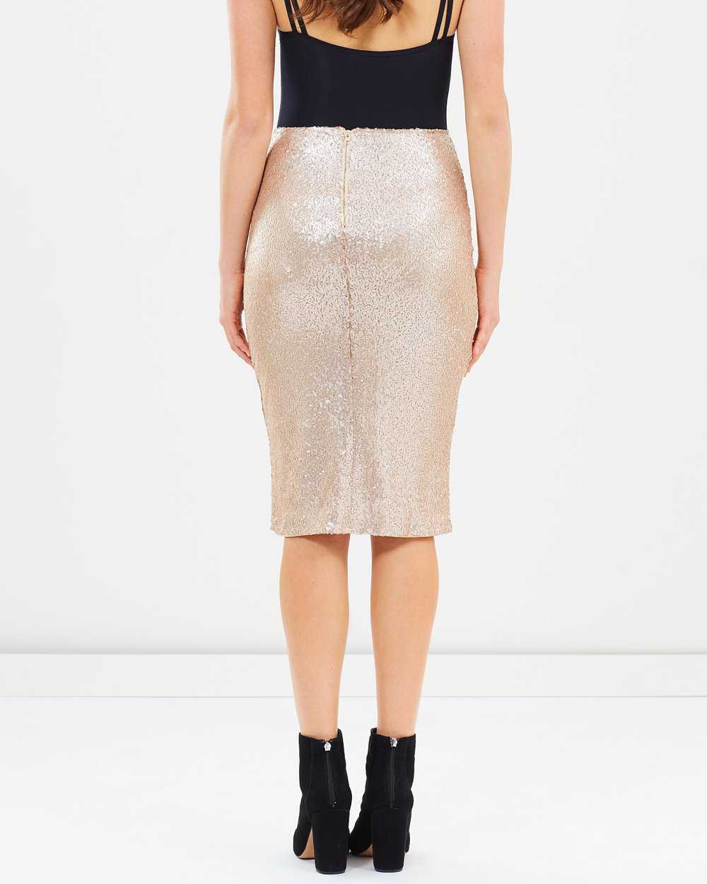 af05382cdc Sequin Pencil Skirt by Dorothy Perkins Online | THE ICONIC | Australia