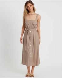 The Fated - Natalia Midi Dress