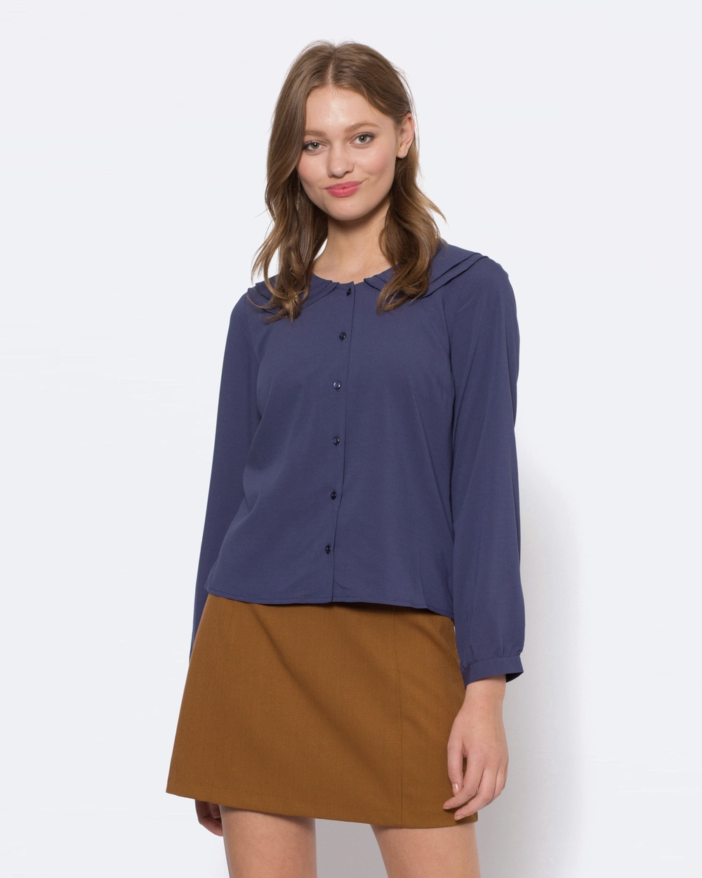 Princess Highway Maggie Blouse Tops BLUE Maggie Blouse