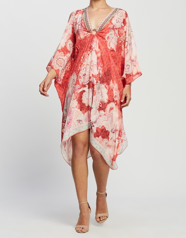 Camilla - Short Kaftan with Hardware