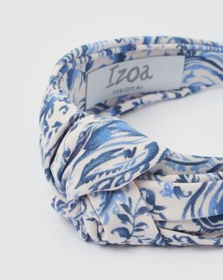 Izoa Centaura Headband - Hair Accessories (Cornflower)