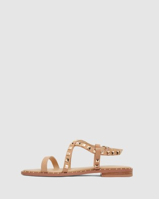 Pink Inc Berry - Flats (Camel)