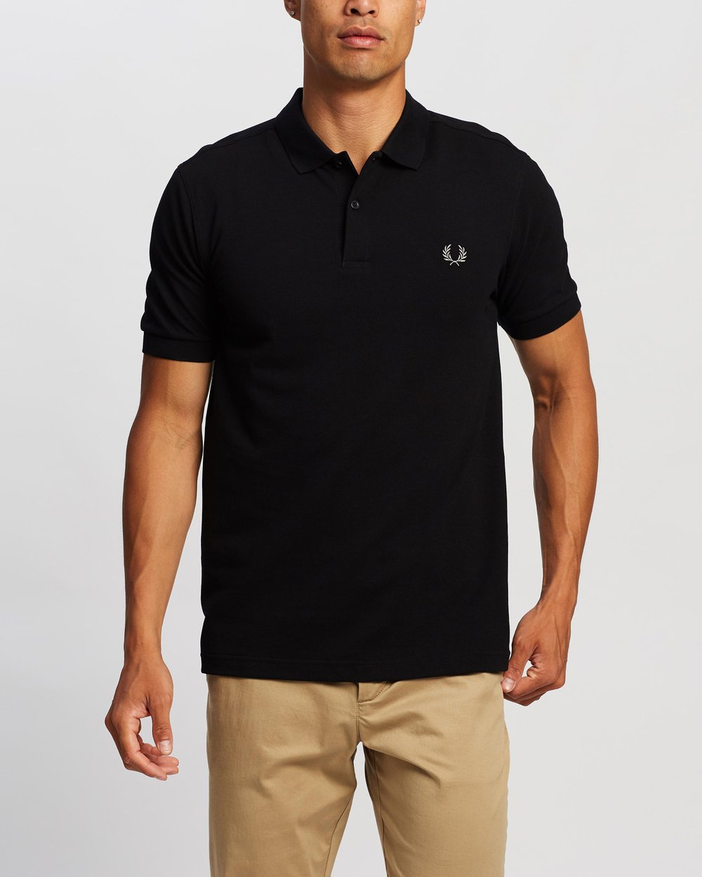 86ee41108 Slim Fit Polo Shirt by Fred Perry Online | THE ICONIC | Australia