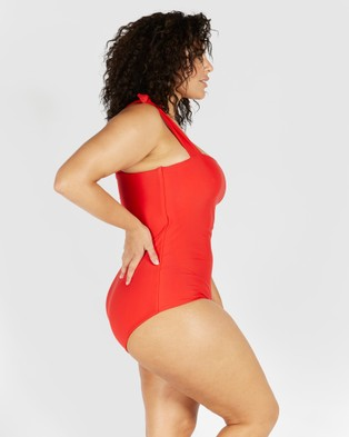SAINT SOMEBODY Come As You Are - One-Piece / Swimsuit (Red)