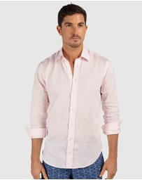 Tolu Australia - Light Pink Linen Shirt