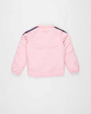 Tommy Hilfiger Essential Tommy Tape Jacket   Kids - Coats & Jackets (Sea Pink)