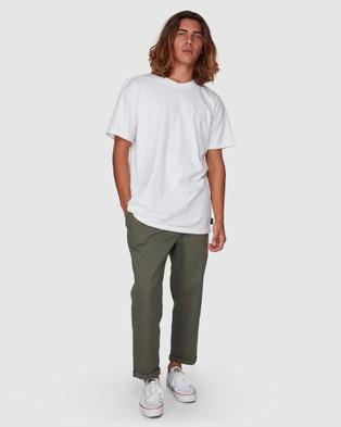 Billabong Larry Twill Pants - Pants (PINE)