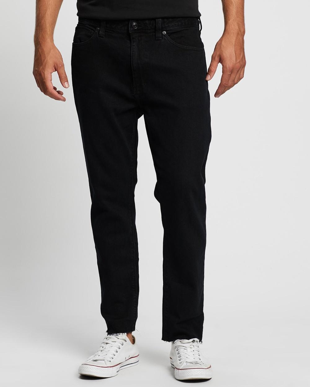 Abrand A Chopped Straight Jeans Slim Nite Flight