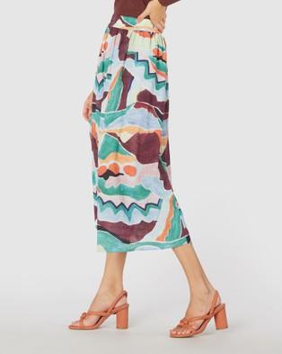 Gorman Stay Flow Skirt Skirts Multi