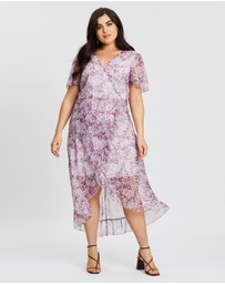 Atmos&Here Curvy - Verona Wrap Dress