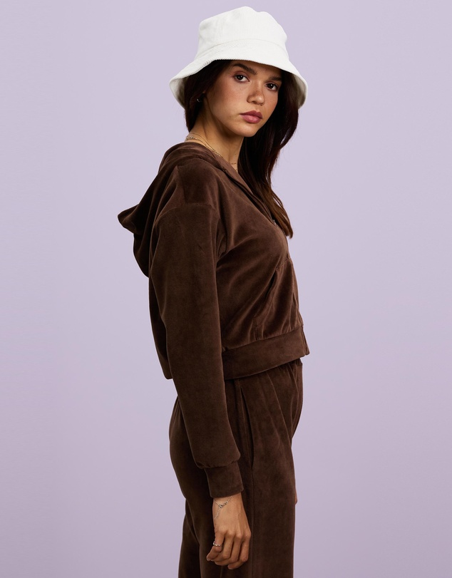 Women Two Faced Valour Cropped Hoodie