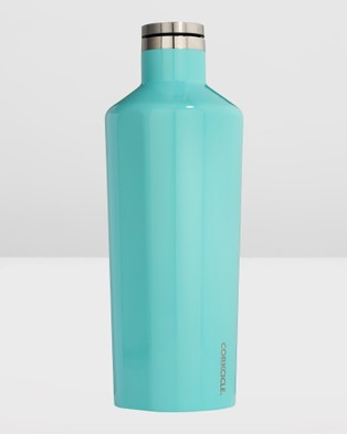 CORKCICLE Insulated Stainless Steel Canteen 1775ml Classic - Water Bottles (Blue)