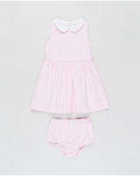 Polo Ralph Lauren - Seersucker Dress & Bloomers - Babies