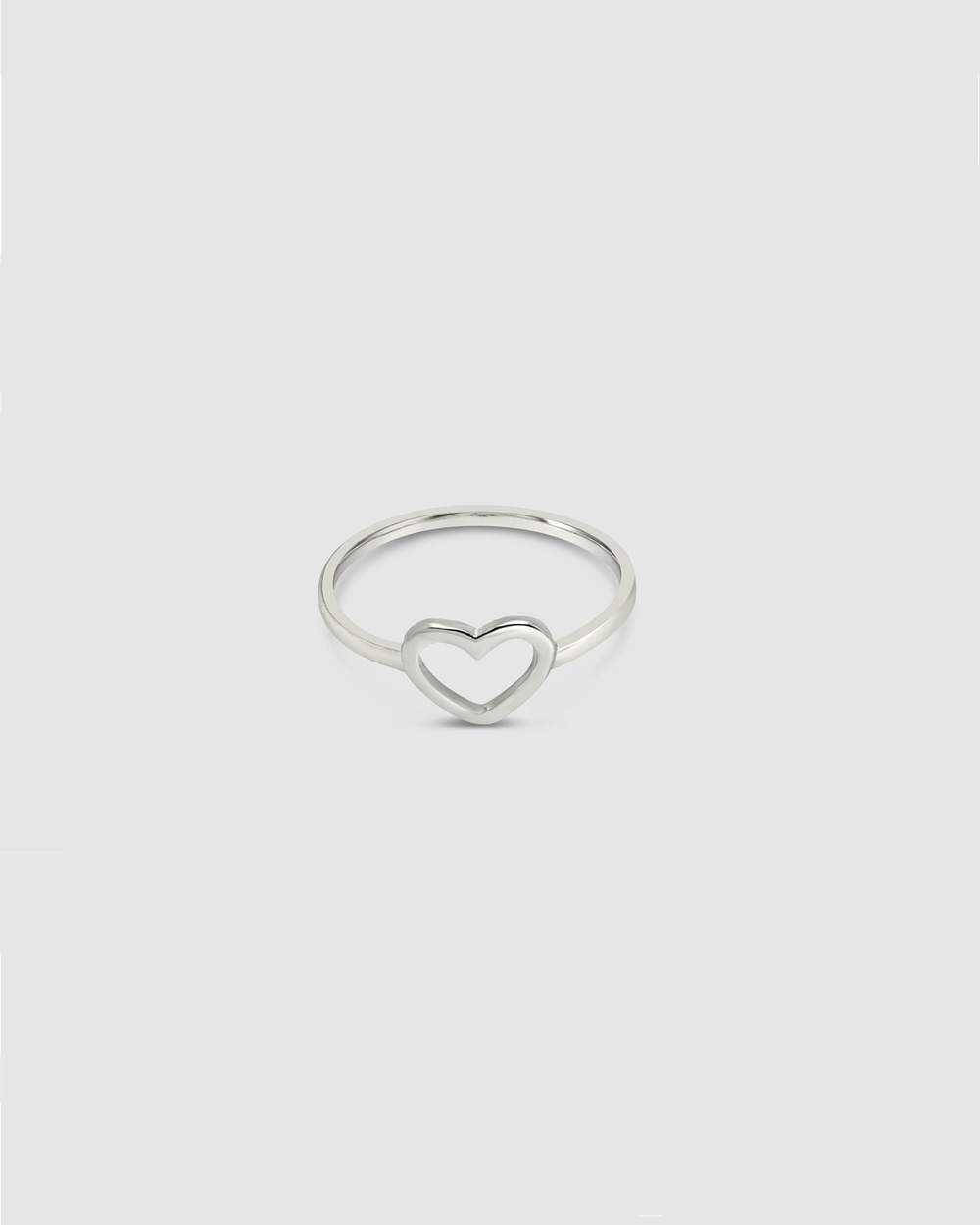 Ichu Heart Ring Jewellery 925 Sterling Silver