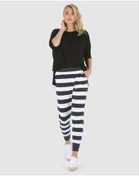 Lincoln St - Wrap Crop Pants