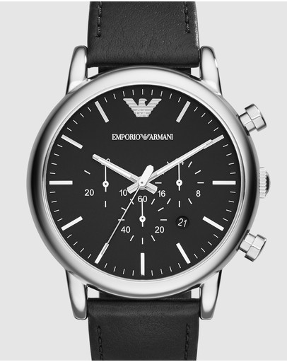 Emporio Armani - Black Chronograph Watch