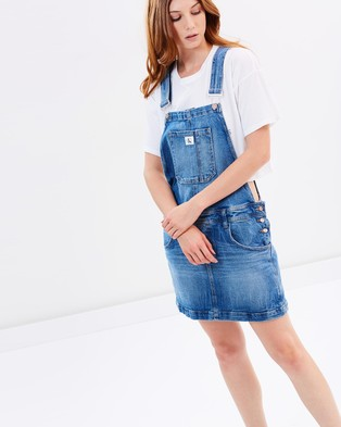 Calvin Klein Jeans – Dungaree Dress – Dresses (Joy Ride)