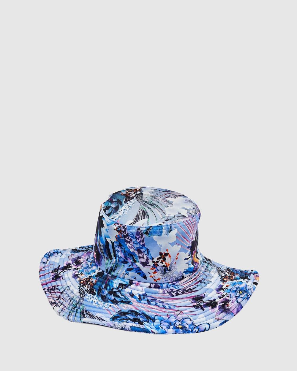 Aqua Blu Kids Iris Lycra Hat Babies Hats Iris