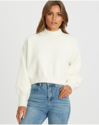 Calli - Rosa Cropped Jumper
