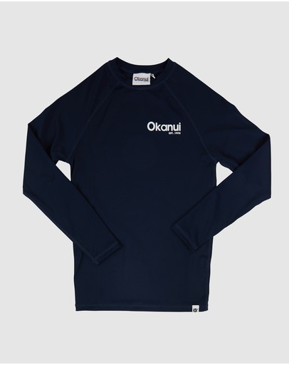 Okanui - Kids Logo Long Sleeve Rash Shirt