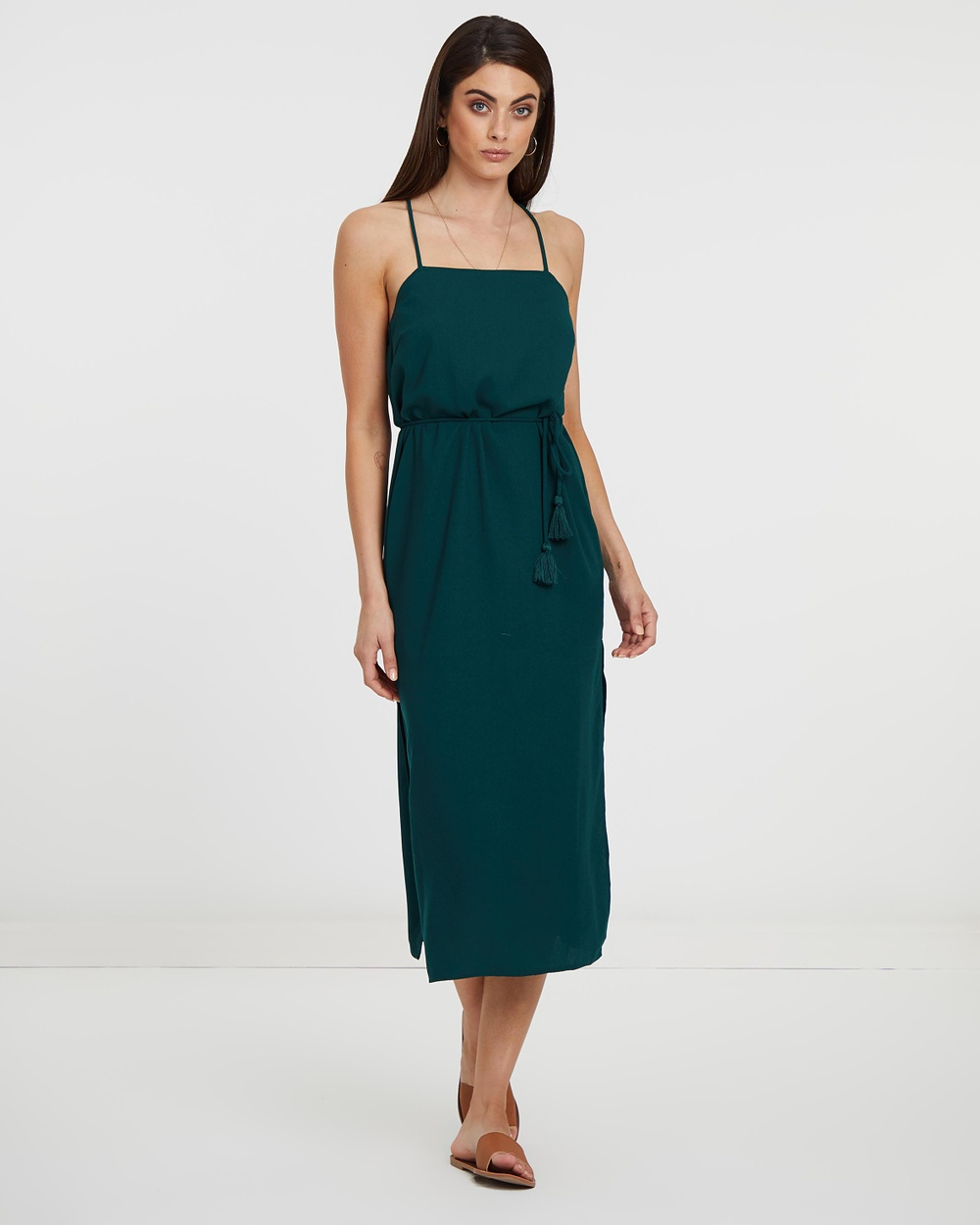 Atmos & Here Forest Green ICONIC EXCLUSIVE – Amy Dress