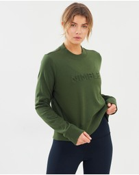 Nimble Activewear - Embossed Crew Jumper