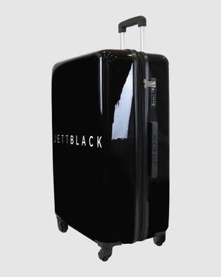 JETT BLACK Jett Black Signature Large Suitcase - Outdoors (Black)