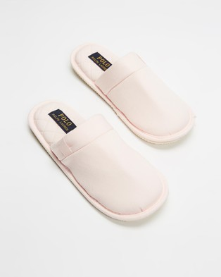 Polo Ralph Lauren Summit Scuff Slippers   Women's - Slippers & Accessories (Light Pink)