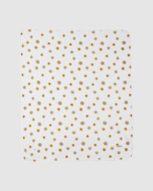 Goldie + Ace Sunshine Baby Wrap Wraps & Blankets Milk