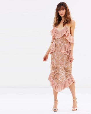 alice McCALL – We Could Be Friends Dress – Dresses (Rose Gold)