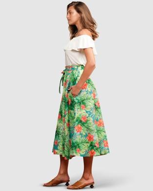 SACHA DRAKE Sunshine Beach Skirt - Skirts (Hibiscus )