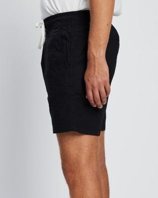 Cotton On Easy Shorts - Shorts (Black & Texture)
