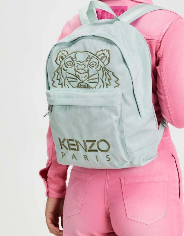 Women Embroidered Tiger Backpack