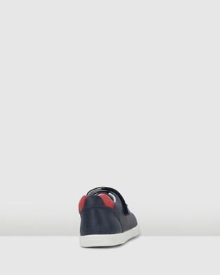 Bobux Kid+ Ryder - Flats (Navy/Red)