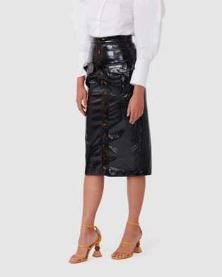 TORANNCE Only In Paris Mid Skirt - Skirts (Black)