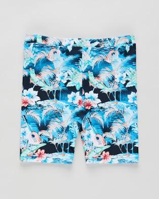 Aqua Blu Kids - Oahu Jammers Swim Briefs (Oahu)