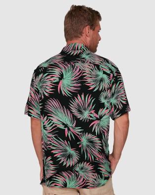Quiksilver Mens Hitch Short Sleeve Shirt - Shirts & Polos (HITCH SS SHIRT)
